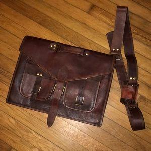Beautiful leather briefcase